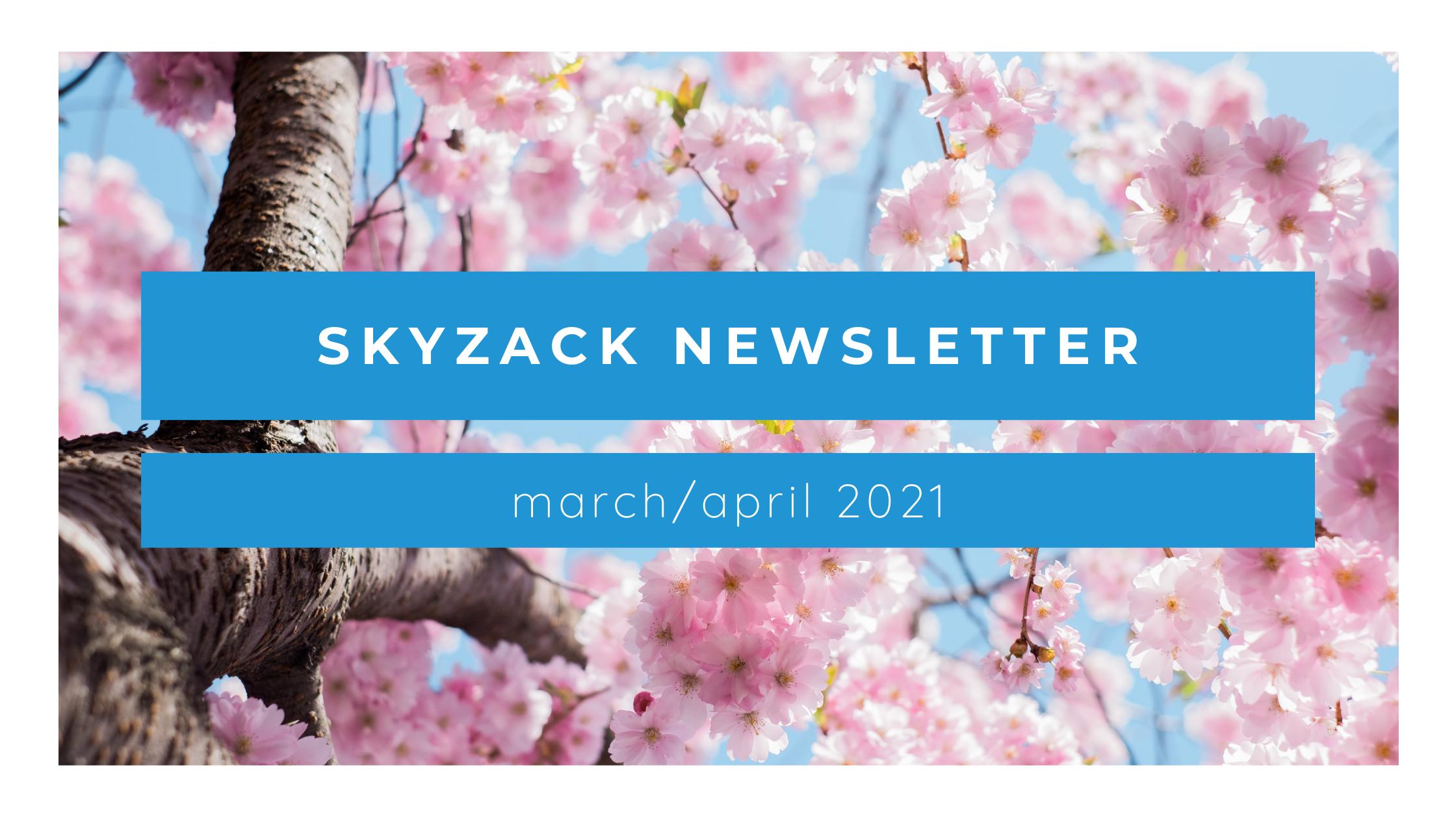 Marketing tips & more: Spring newsletter